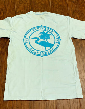 Comfort Color Everglades T-Shirt-Chambray