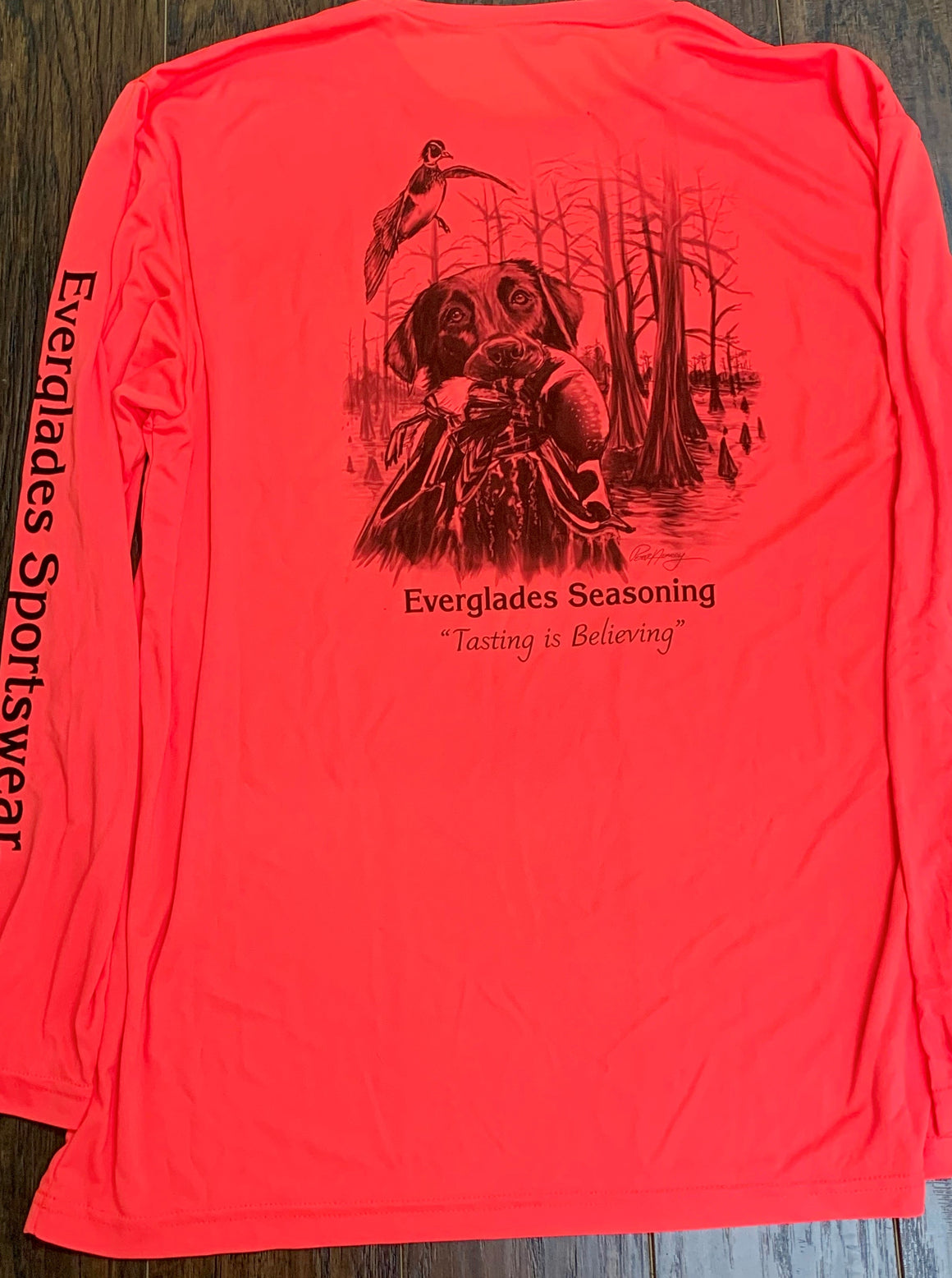 Everglades Sportswear Duck Hunting Non Mesh Fishing Shirt