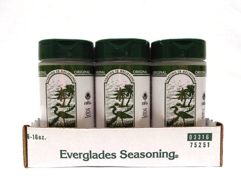 Everglades All Purpose Seasoning 16 oz Case