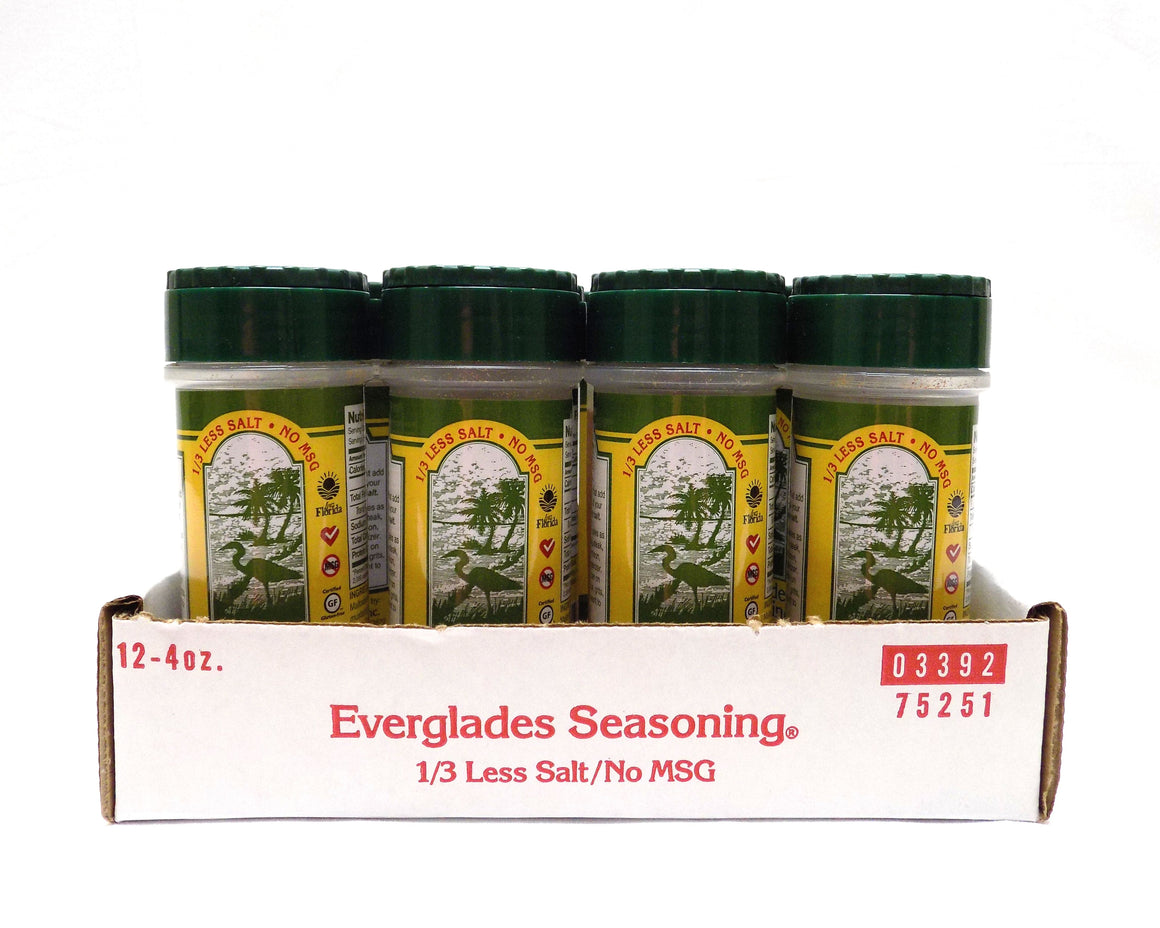 Everglades 4 oz 1/3 Less Salt/No MSG Case