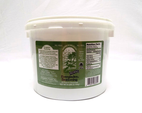 Everglades All Purpose Seasoning w/No MSG 5 lb Case