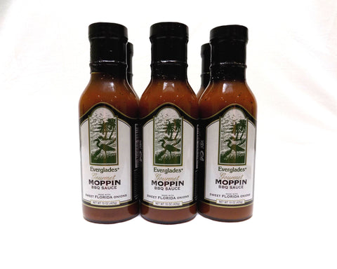 Everglades Moppin' BBQ Sauce Case of 6-15oz Bottles