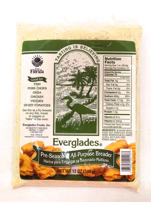 Everglades 12 oz Pre-Seasoned All Purpose Breading Mix Bag