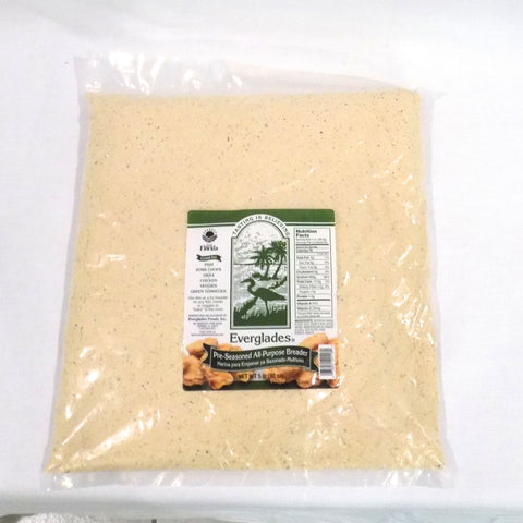 Everglades Pre-Seasoned All Purpose Breading Mix 5 lb