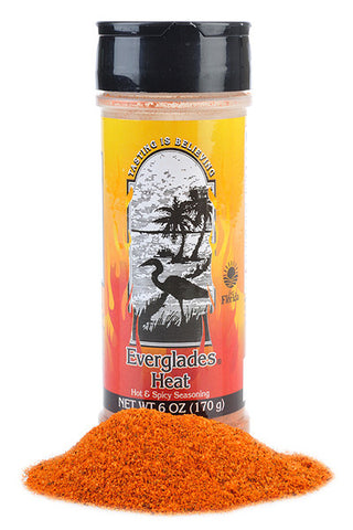 Everglades Heat Seasoning 6 oz case