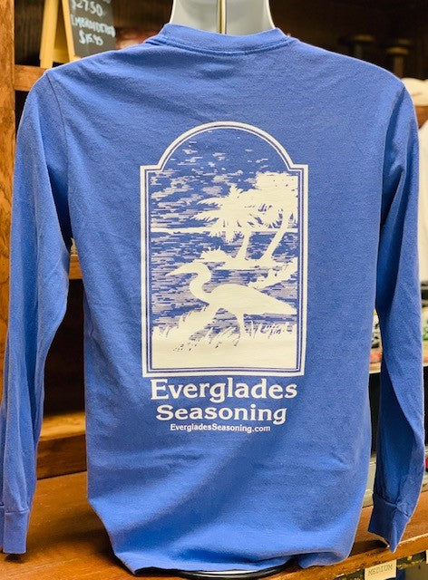 Comfort Color Everglades T-Shirt-Flo Blue