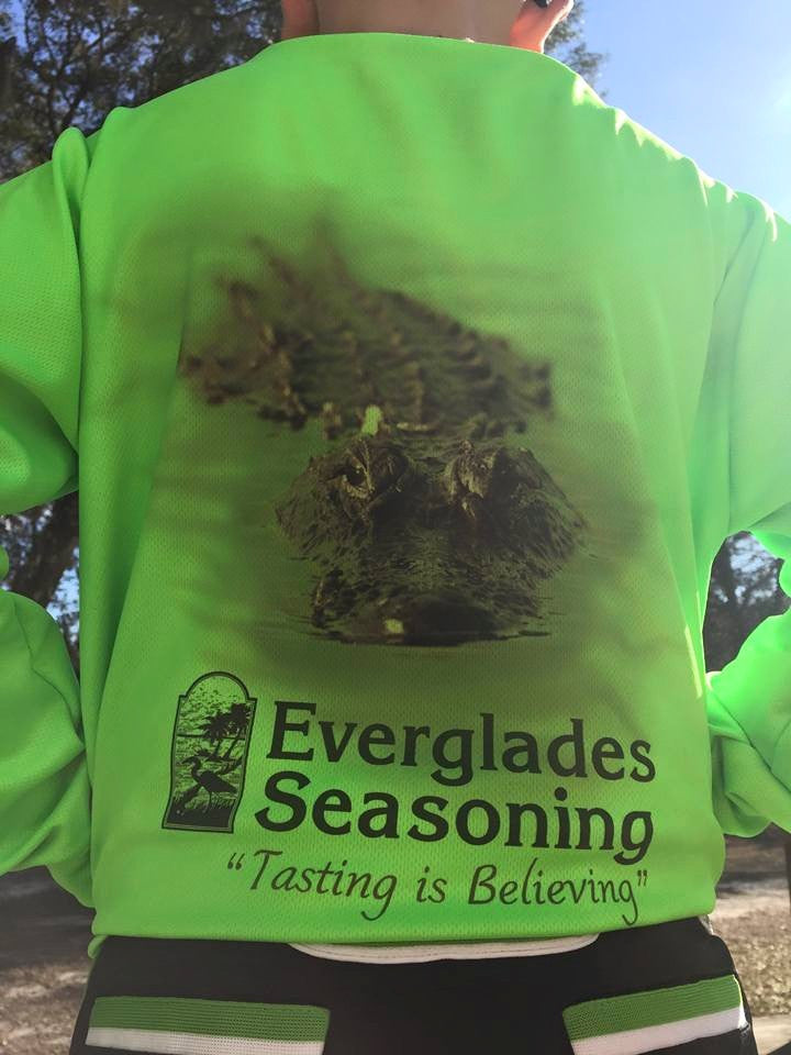 Everglades Sportswear Gator Fishing Shirts-Youth