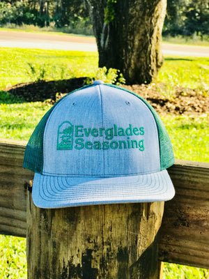 Everglades SnapBack-Grey and Green