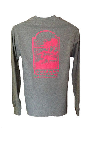 Everglades Seasoning Grey and Hot Pink T-Shirt