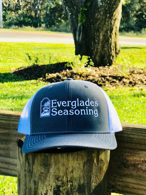 Everglades SnapBack-Grey and White