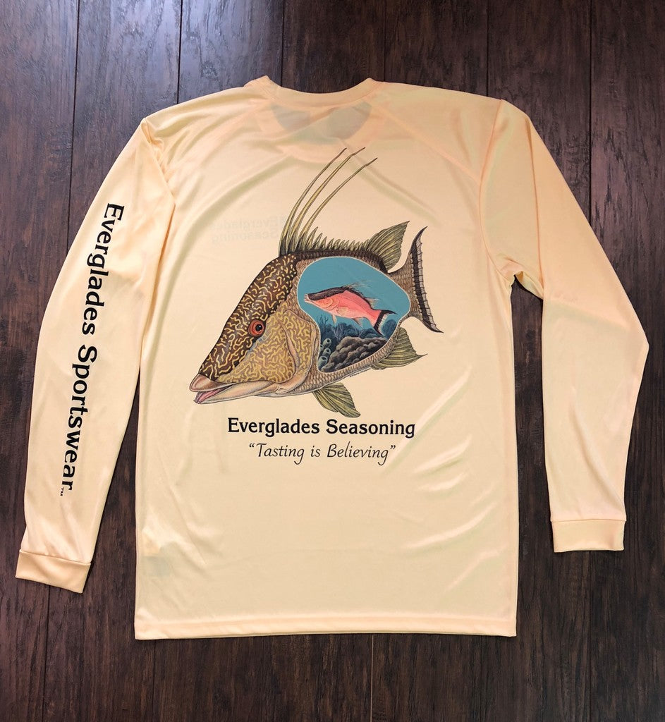 Everglades Sportswear Hogfish Fishing Shirt