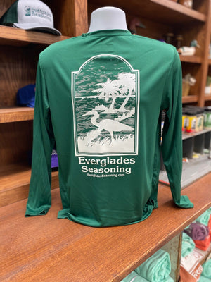 Everglades Sportswear Hunter Green Fishing Shirt