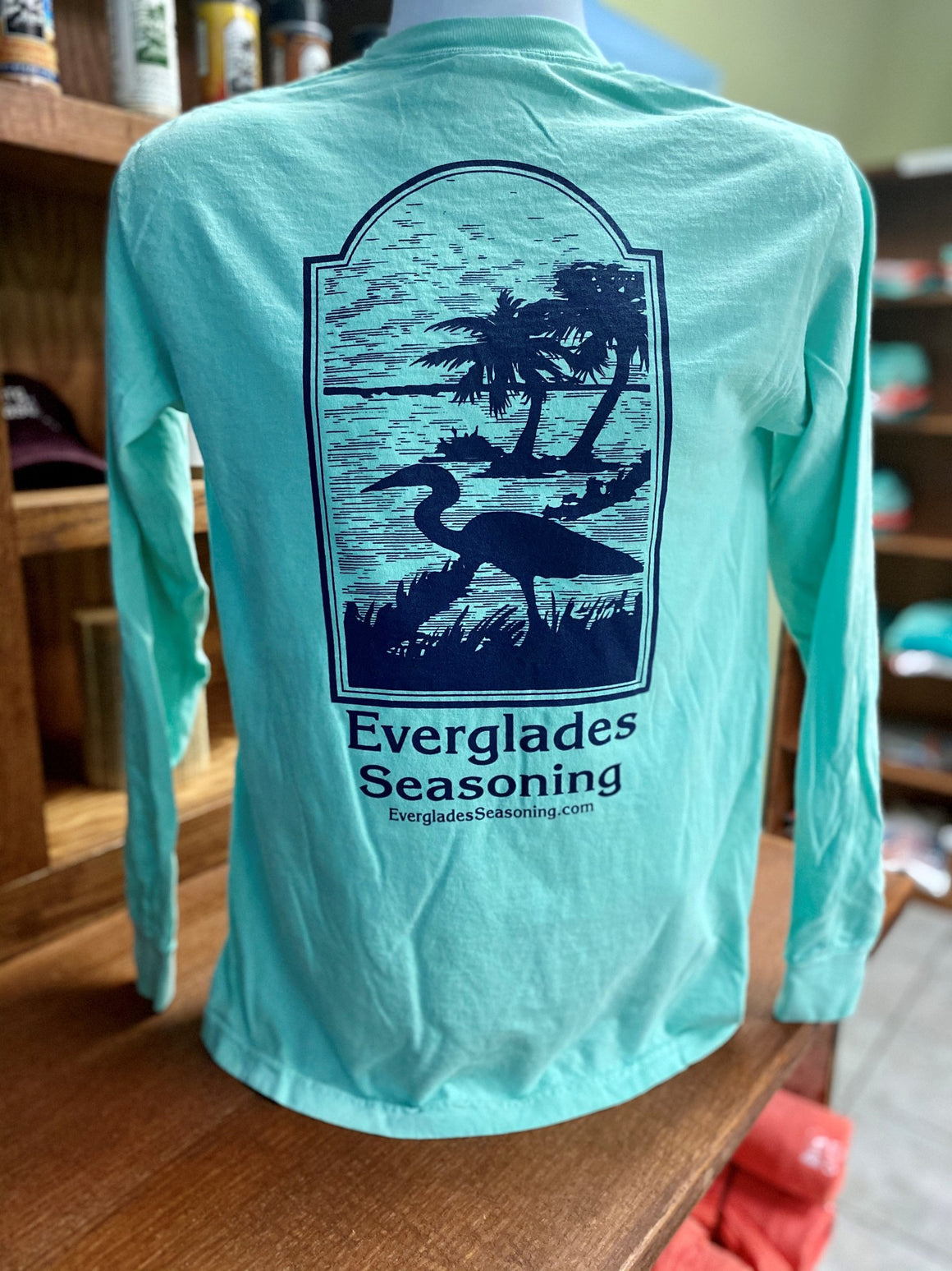 Comfort Color Everglades T-Shirt-Chalky Mint