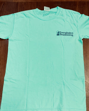 Comfort Color Everglades T-Shirt-Island Reef