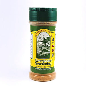 Everglades 4 oz 1/3 Less Salt-No MSG Shaker