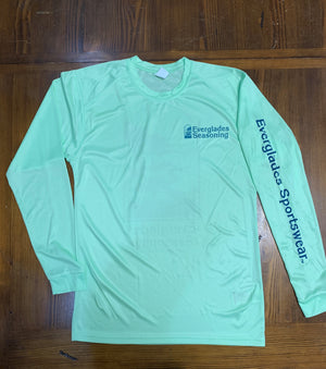 Everglades Sportswear Fishing Shirts-Limeade Paragon