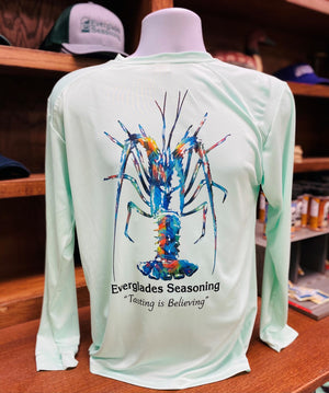 Everglades Sportswear Mini Lobster Fishing Shirts