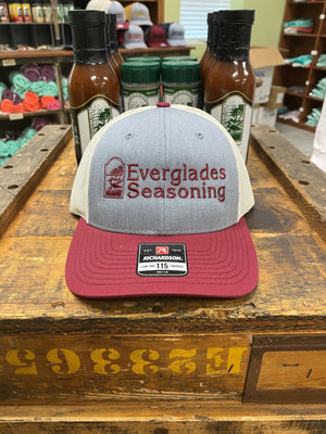 Everglades SnapBack-Garnet and Khaki
