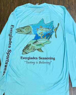 Everglades Sportswear Snook Fishing Shirt