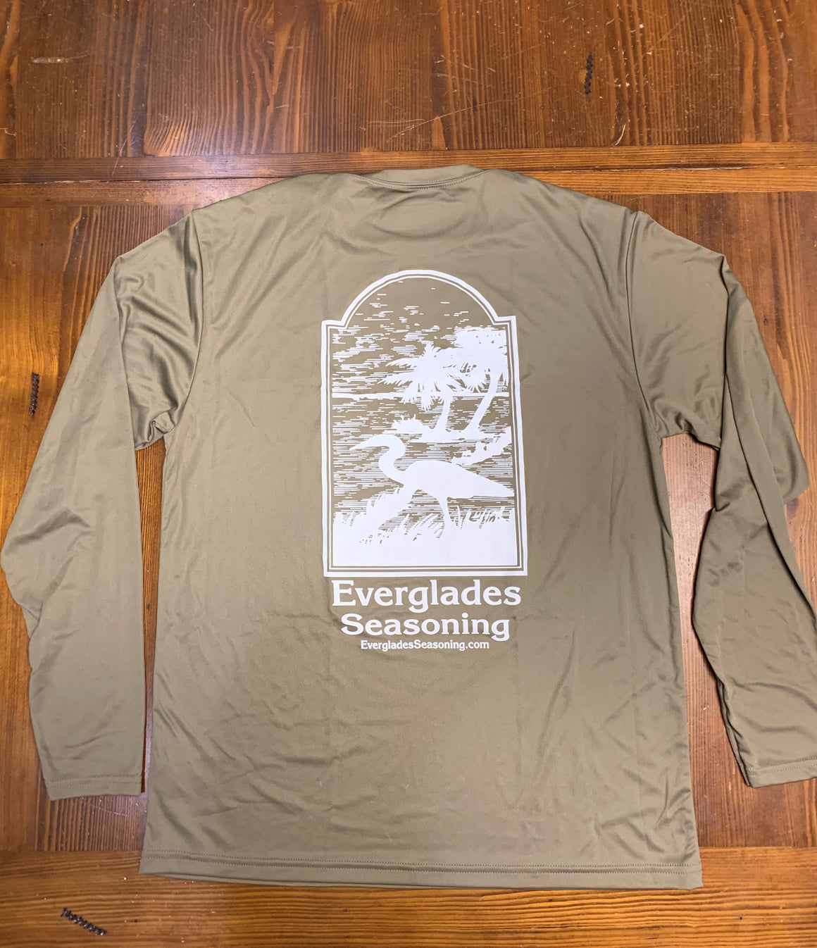 Everglades Sportswear Fishing Shirts-Olive A4
