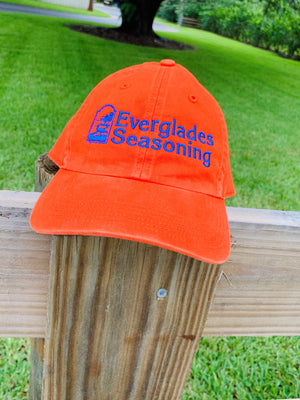 Everglades Richardson 320 Baseball Hat-Orange and Blue