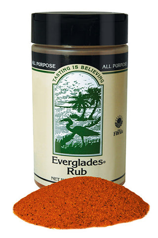 Everglades Rub Seasoning 12 oz Case
