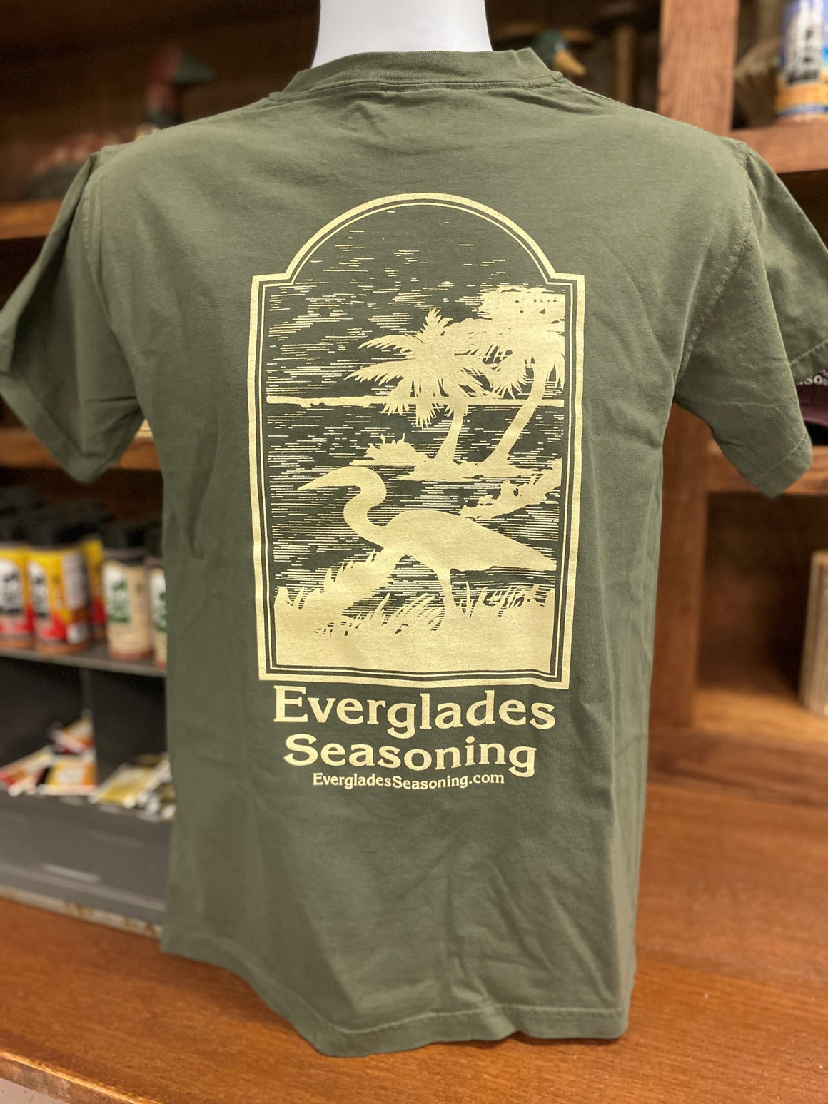 Comfort Color Everglades T-Shirt-Sage