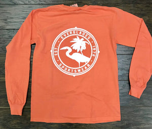 Comfort Color Everglades T-Shirt-Bright Salmon