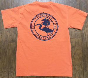 Comfort Color Everglades T-Shirt-Salmon Color