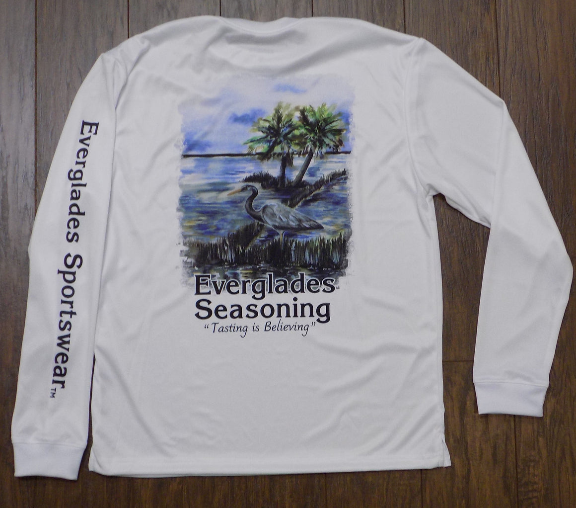 Scene of The Everglades Fishing Shirt-Limited Edition