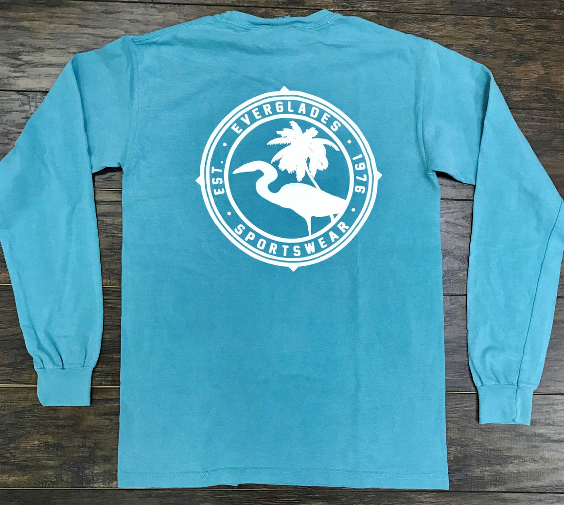 Comfort Color Everglades T-Shirt-Seafoam