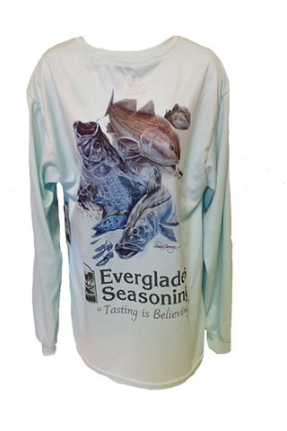 Everglades Sportswear Gulf Slam Fishing Shirt