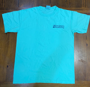 Comfort Color Everglades T-Shirt-Topaz Blue