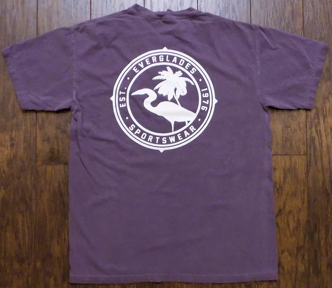 Comfort Color Everglades T-Shirt-Wine Color