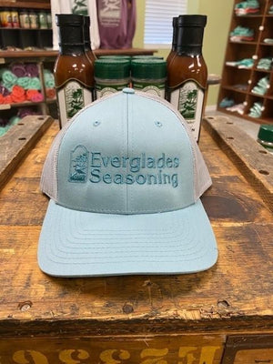 Everglades SnapBack-Light Blue and Grey