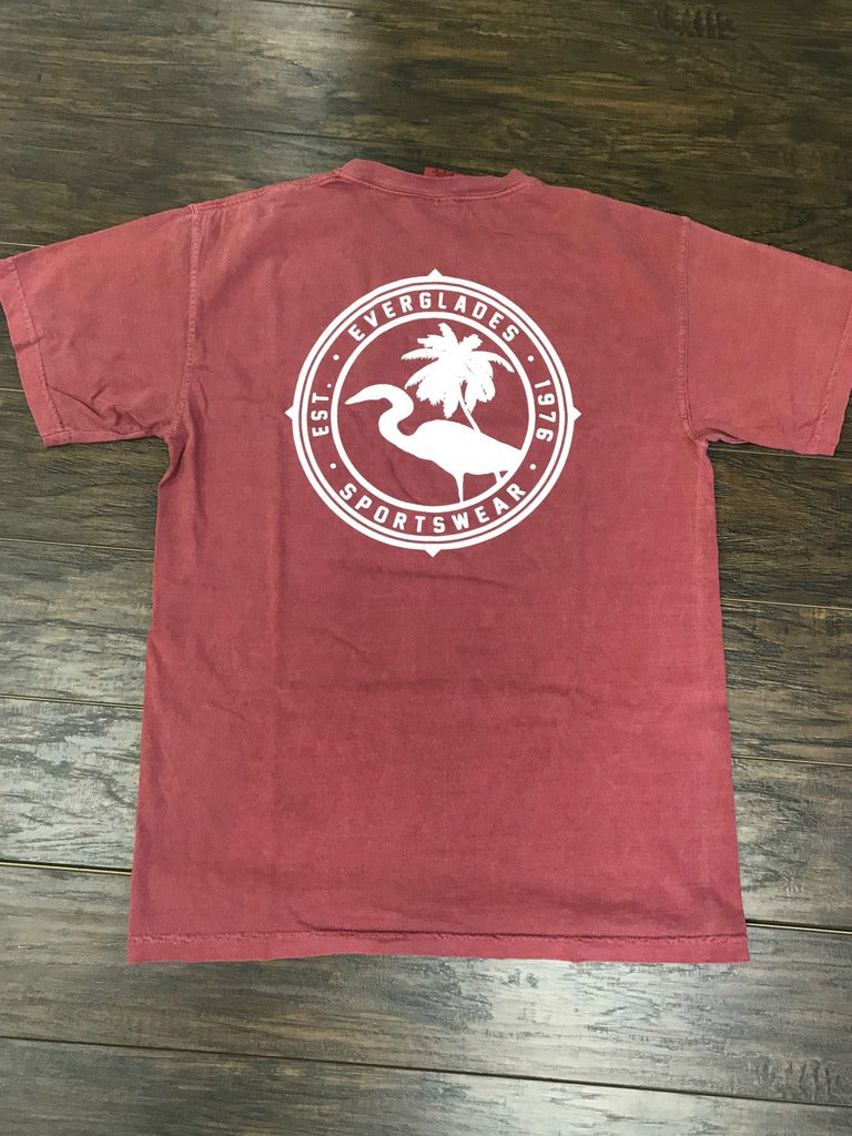 Comfort Color Everglades T-Shirt-Crimson