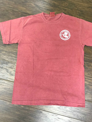 Comfort Color Everglades T-Shirt-Crimson Color