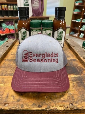 Everglades SnapBack-Grey and Garnet
