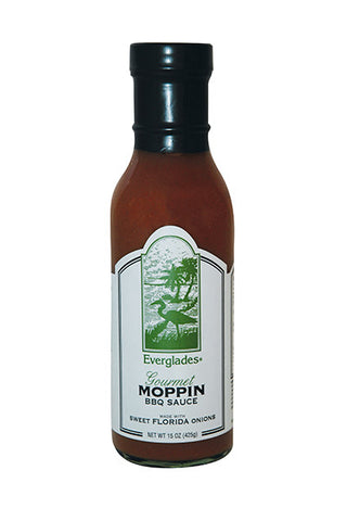 Everglades Moppin' BBQ Sauce 15 oz Case