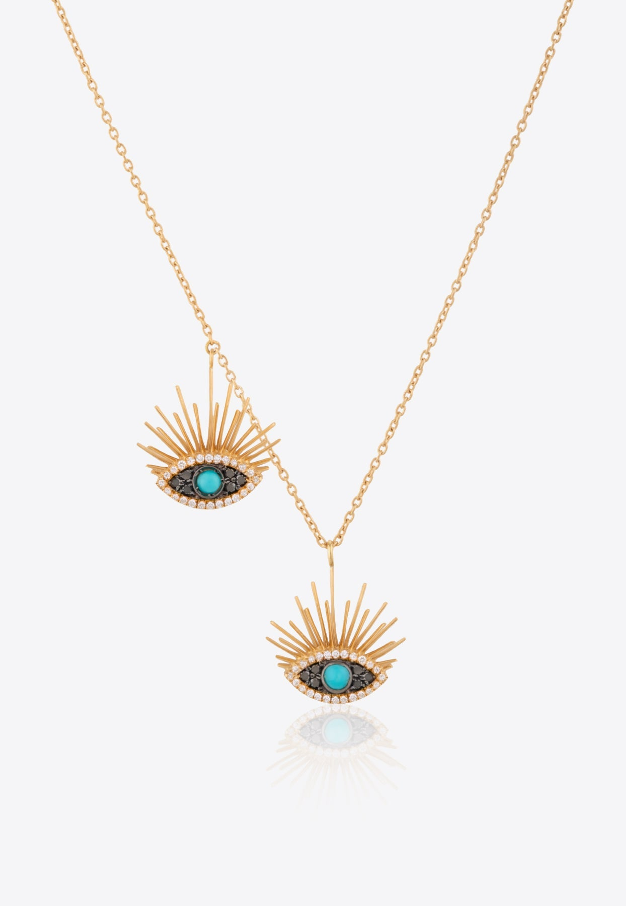 Falamank Sweet Collection Necklace In 18-karat Yellow In Gold