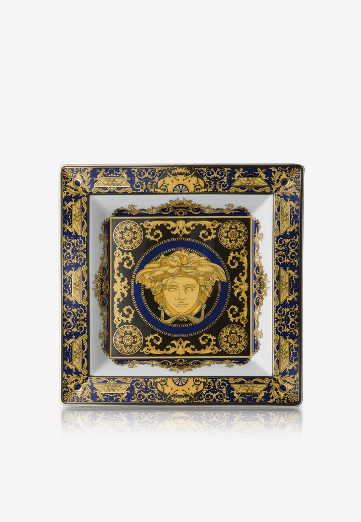 Versace Home Collection Medusa In Blue
