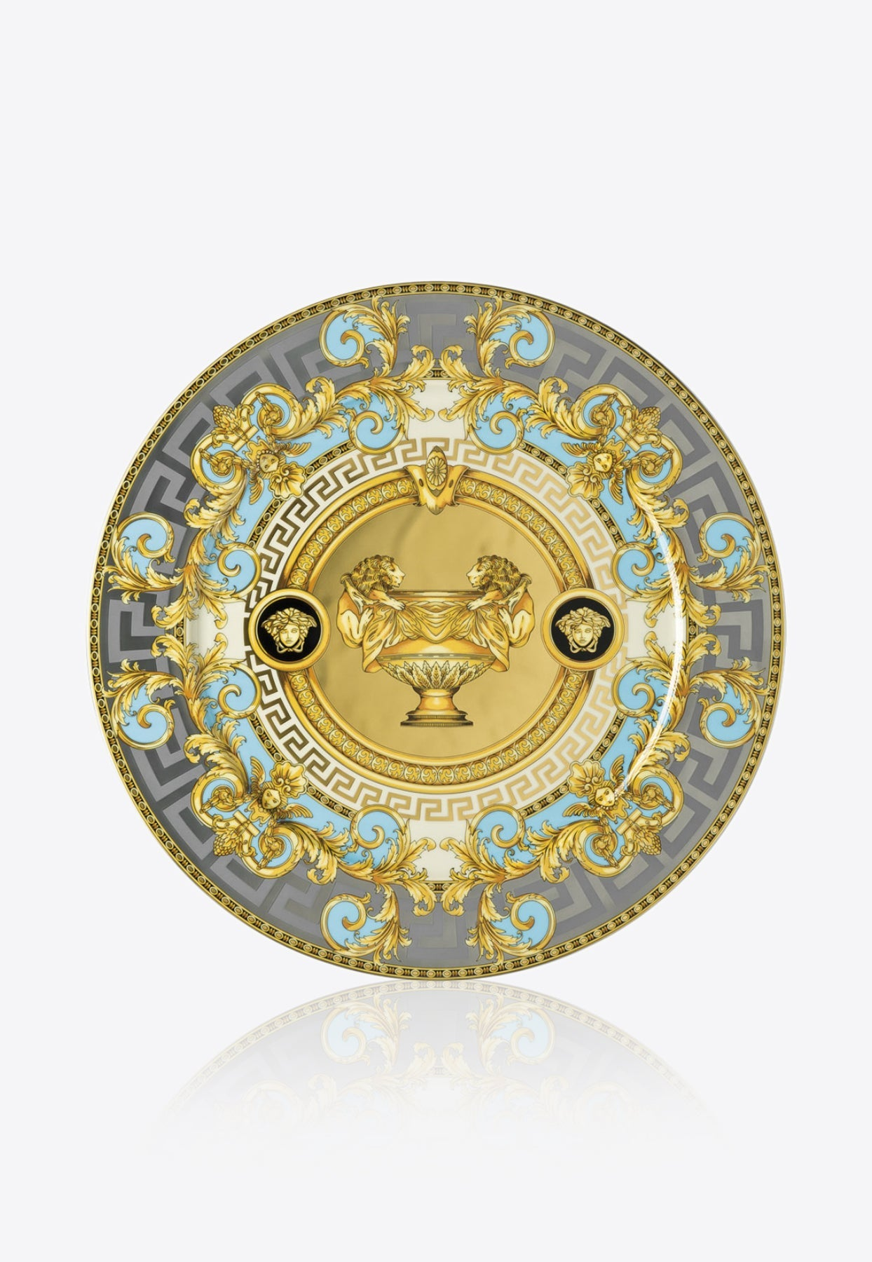 Versace Home Collection Prestige Gala Service Plate In Blue