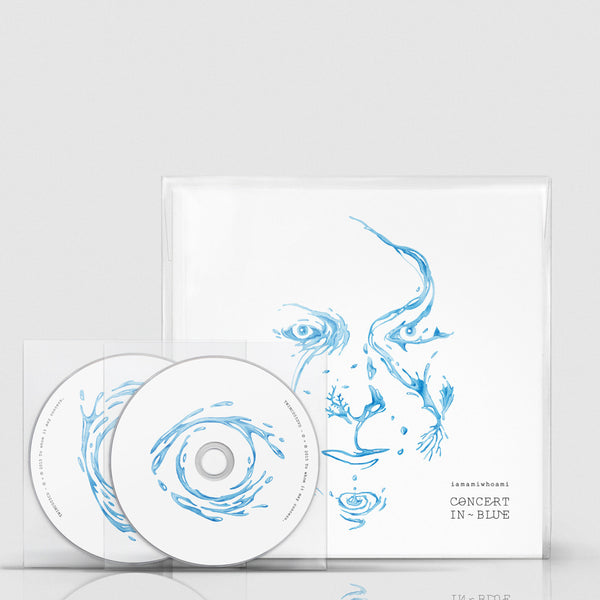 ~ iamamiwhoami; CONCERT IN BLUE (CD/DVD/book)
