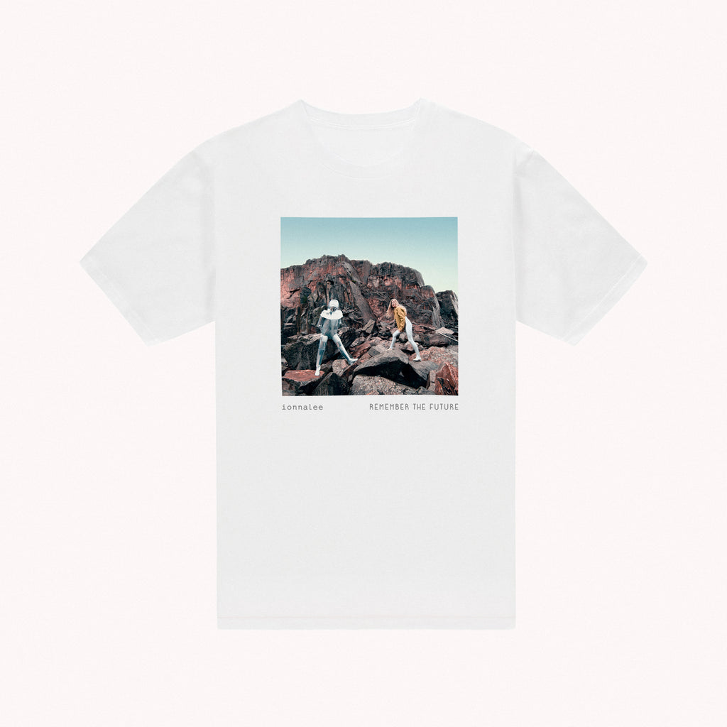 REMEMBER THE FUTURE artwork tee