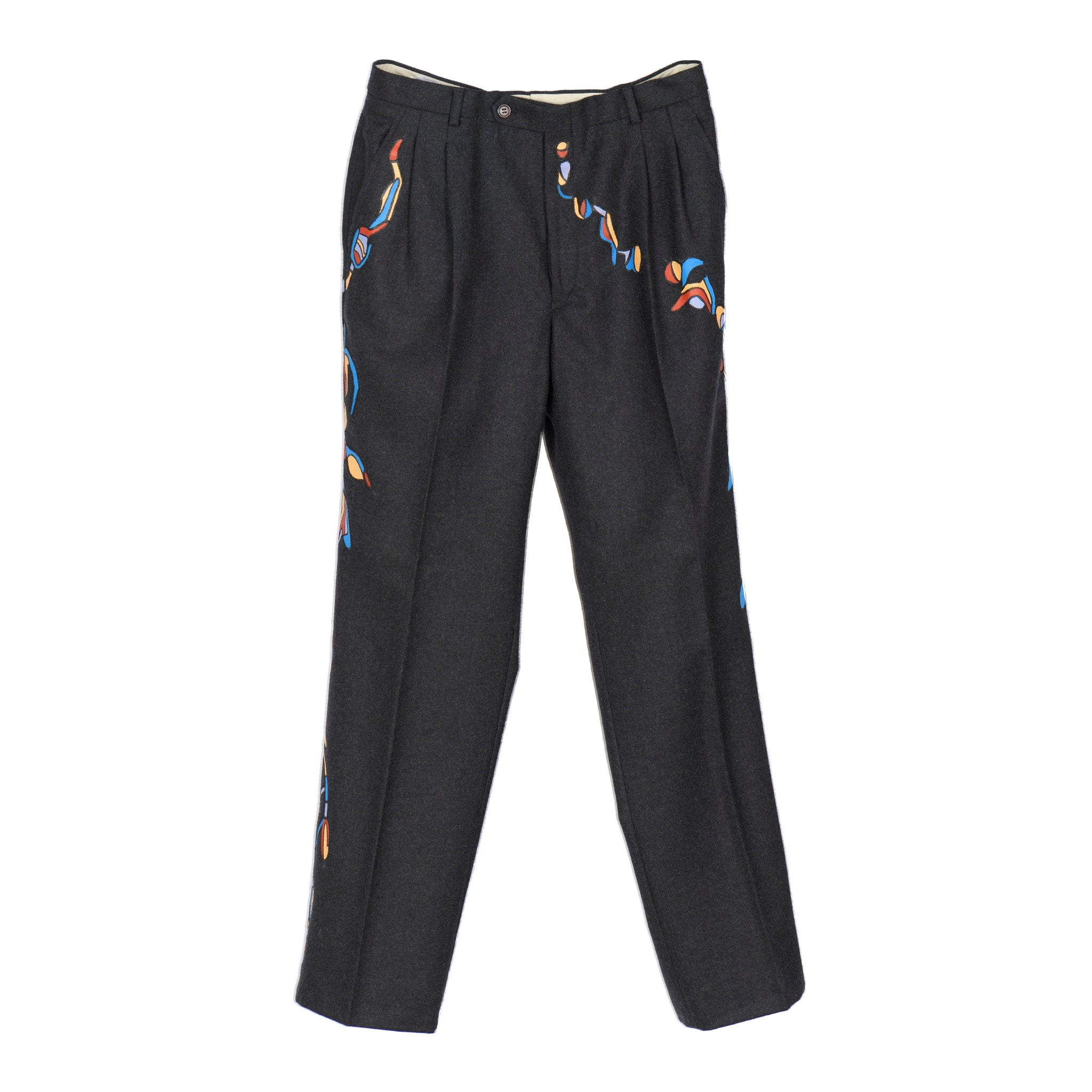 « SYNAPSE  » GREY TROUSERS