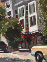 Load image into Gallery viewer, San Francisco Cityscape Plein Air Landscape allaprima Original Oil Painting on canvas Figurative art Free US Shipping
