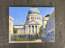 Load image into Gallery viewer, Original painting San Francisco City Hall Painting Plein Air Painting Oil on Canvas Allaprima Cityscape figurative Fine Art Free US delivery