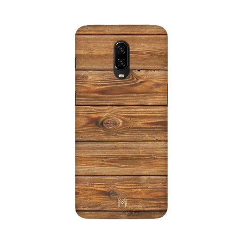 Oneplus 6T Wood Design