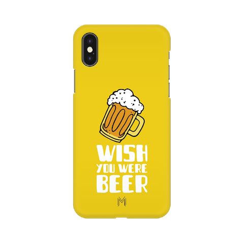 Apple iPhone Xs Wish you were beer