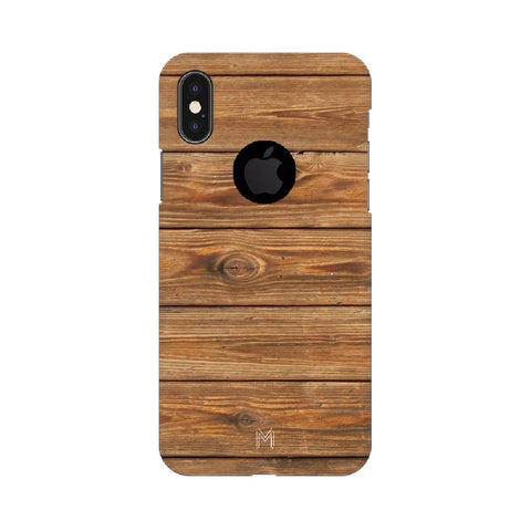 Apple iPhone X Wood Design
